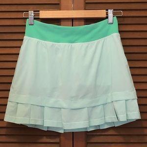Ivivva Country Clubbin pleated skort skirt shorts
